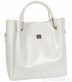 87687b6e30 Bílá moderní dámská kabelka S728 GROSSO   NEWBERRY - velkoobchod ...